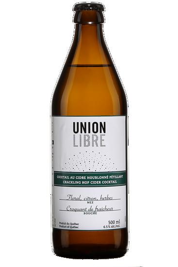 Union Libre Cocktail au Cidre Houblonné Pétillant