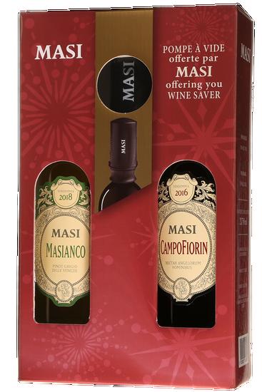 Masi Agricola Campofiorin et Masianco Coffret Cadeau (2x750ml)