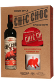 Coffret Cadeau Chic Choc Rhum  Épicé + 2 Tasses + Tuque Image