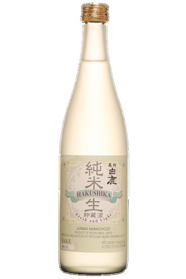Tatsuuma Honke Brewing Hakushika Junmai Namachozo