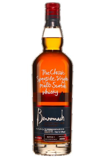 Benromach 2008 Vintage Cask Strength Single Malt Scotch Whisky