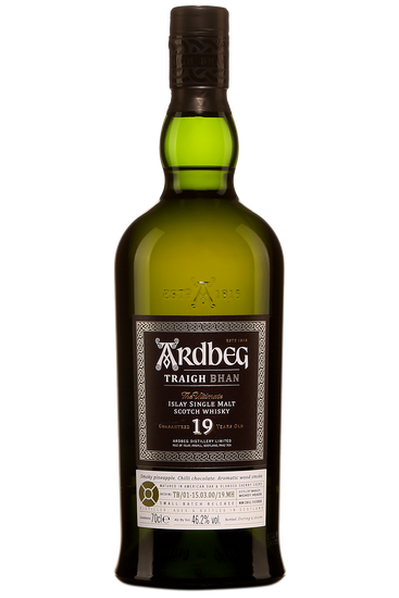 Ardbeg Traigh Bhan 19 Ans Islay Single Malt Scotch Whisky