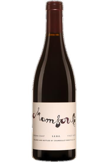 Chamboulé Pinot Noir Sonoma Coast