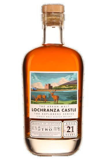 Isle of Arran 21 Ans Explorers Series Lochranza Castle Highlands Single Malt Scotch Whisky