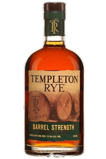 Templeton Rye Barrel Strength Édition Limitée Whisky