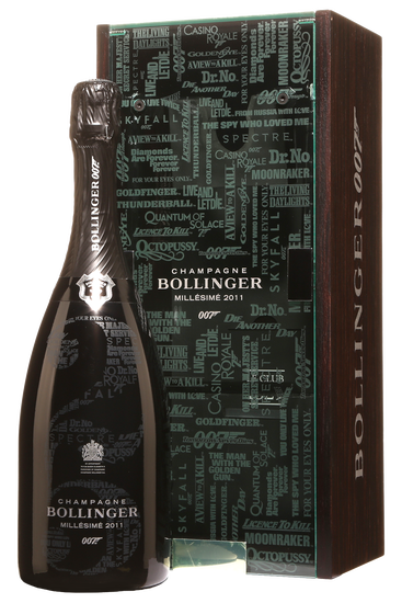 Coffret Cadeau Bollinger James Bond 007