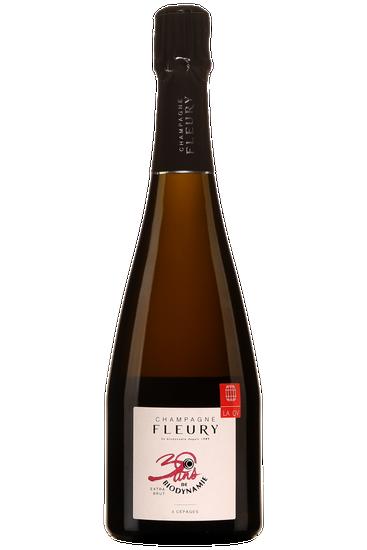 Champagne Fleury 30 ans de Biodynamie