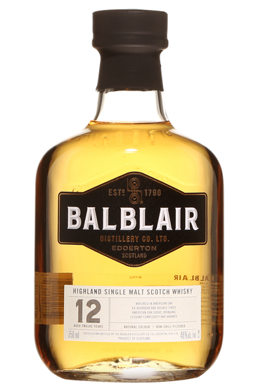 Balblair 12 ans Highlands Single Malt Scotch Whisky