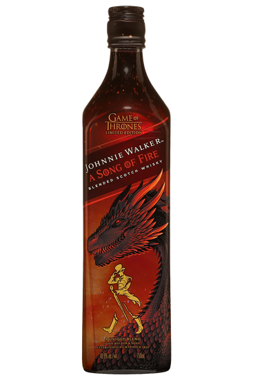 Johnnie Walker Game of Thrones A Song of Fire Blended