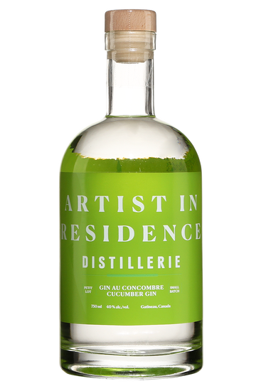 Distillerie Artist in Residence Gin au concombre
