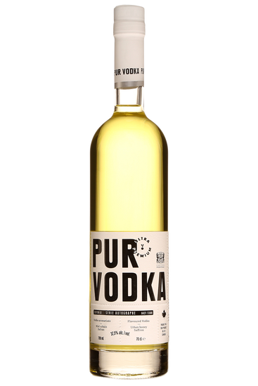 Pur Vodka Série Autographe Le Château Frontenac