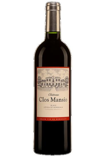 Château Clos Mansio Blaye Côtes de Bordeaux