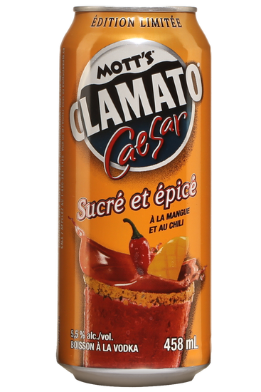 Mott's Clamato Caesar Sweet & Spicy