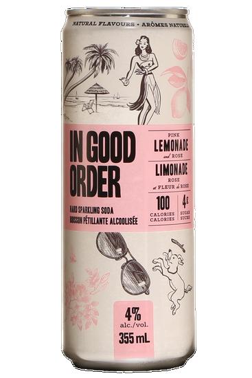 In Good Order Pink Lemonade And Rose