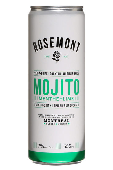 Distillerie de Montréal Rosemont Mojito Épicé