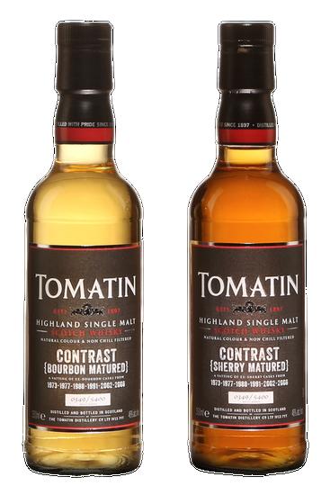 Tomatin Contrast Highland Single Malt Scotch Whisky Coffret
