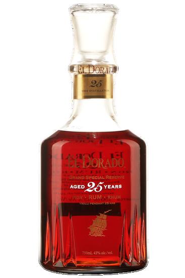 Demerara Distillers El Dorado 25 ans