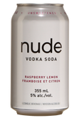 Nude Vodka Soda Raspberry Lemon Image