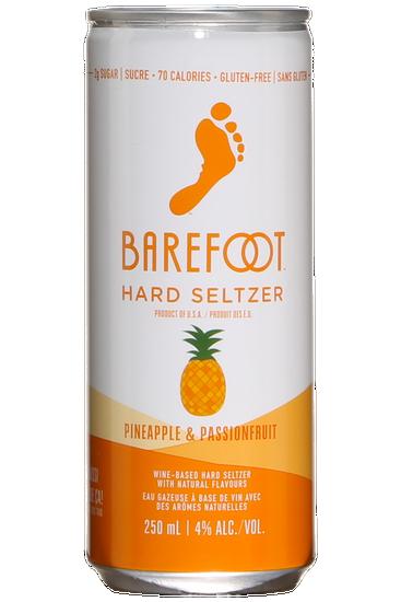 Barefoot Hard Seltzer Ananas et Fruit de la Passion