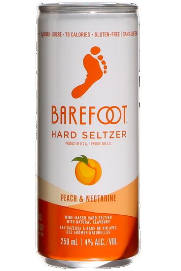 Barefoot Hard Seltzer Peach and Nectarine