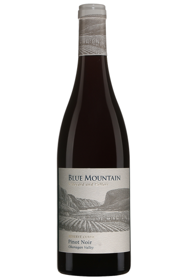 Blue Mountain Reserve Cuvée Pinot Noir Okanagan Valley