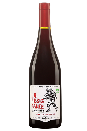 Vignerons l'Enclave La Résistance Côtes du Rhône