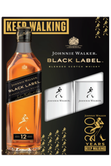Johnnie Walker Black Label Coffret  + 2 Verres Image