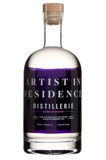 Distillerie Artist in Residence Gin aux Bleuets Sauvages