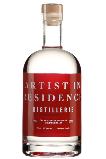 Distillerie Artist in Residence Gin aux Fruits Sauvages