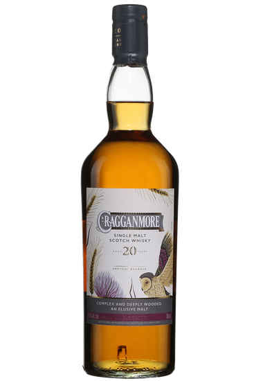 Cragganmore 20 Years Old Speyside Single Malt Scotch Whisky