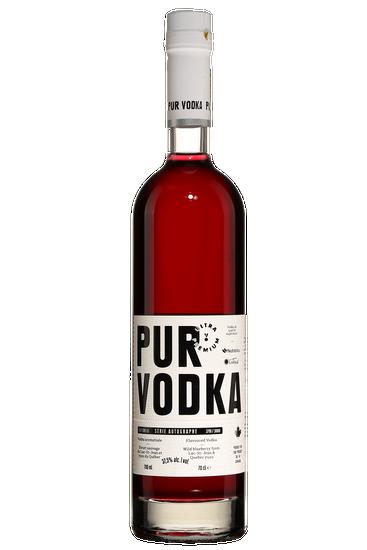Pur Vodka Série Autographe Bleuet Sauvage Yuzu