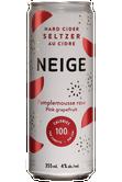 Neige Seltzer Pamplemousse Rose Image