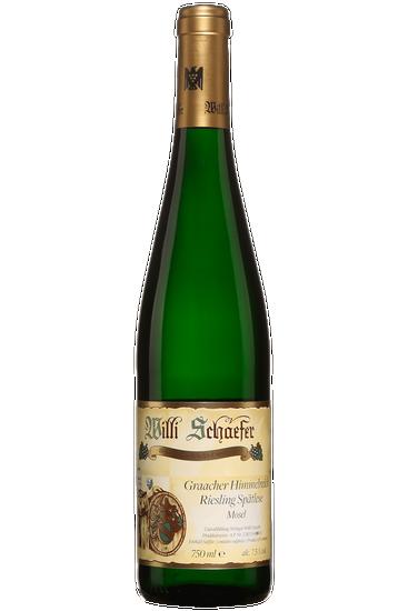 Willi Schaefer Graacher Himmelreich Spatlese Riesling Moselle