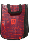 4-bottle polypropylene reusable bag 100th anniversary Image