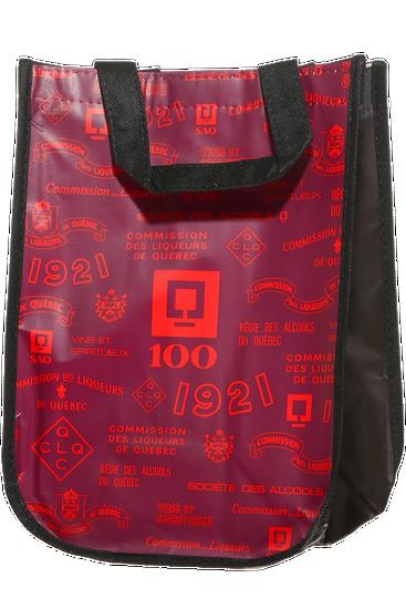 4-bottle polypropylene reusable bag 100th anniversary