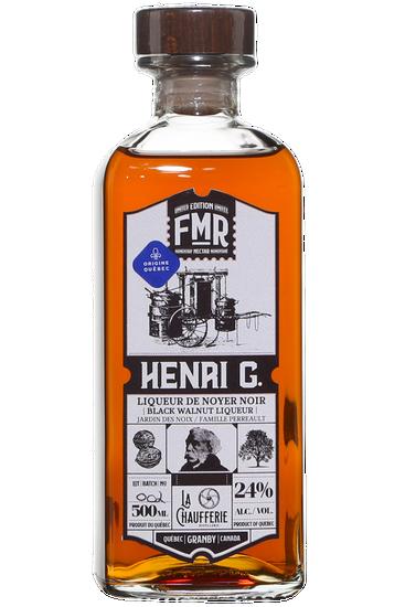 Distillerie La Chaufferie FMR Henri G. Liqueur de Noyer Noir