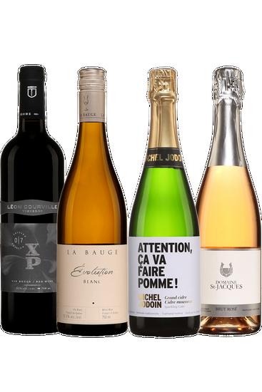 Du Québec dans votre verre - forfait bulles et vins (4x750ml)
