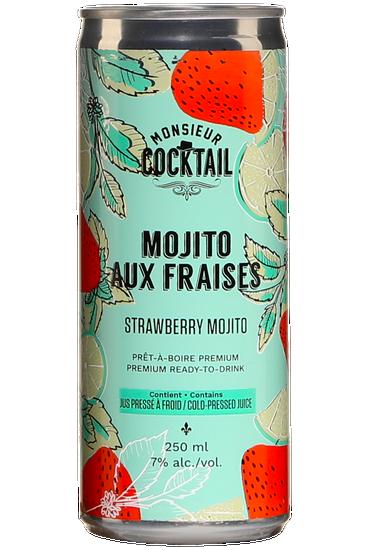 Monsieur Cocktail Mojito aux Fraises
