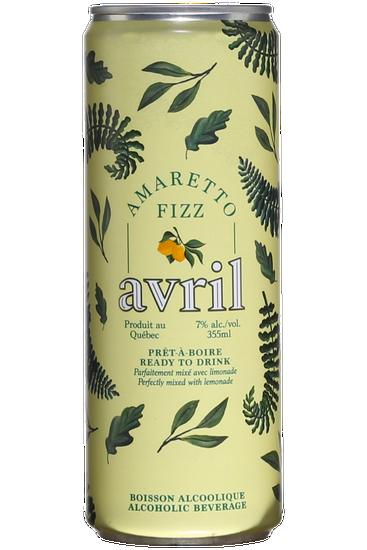Avril Amaretto Fizz