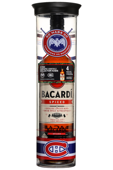 Bacardi Spiced Carafe Cocktail Canadiens de Montréal