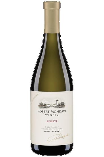Robert Mondavi Winery Napa Valley to Kalon Vineyard Fumé blanc Reserve