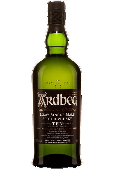 Ardbeg 10 Ans Islay Single Malt Scotch Whisky
