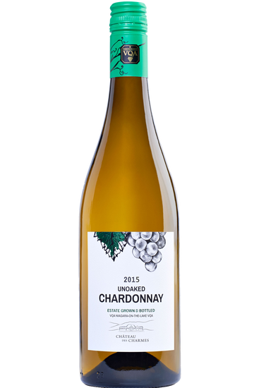 Château des Charmes Unoaked Chardonnay Estate Grown & Bottled