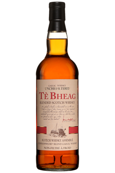 Té Bheag Unchilfiltered Gaelic Blended Scotch Whisky