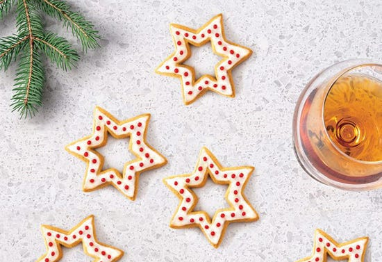 Biscuits de Noël à la liqueur d'agrumes