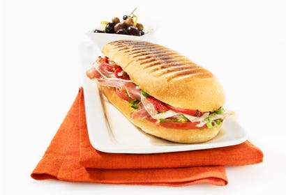 Bocadillos (sandwich espagnol à l'omelette) Image