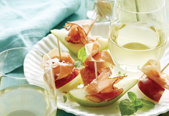 Smoked Ham With Apple and Pear
