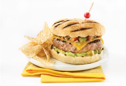 Burgers mexicains Image