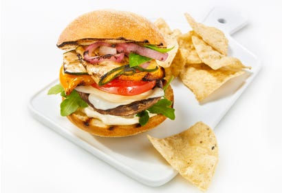 Burgers de portobello Image