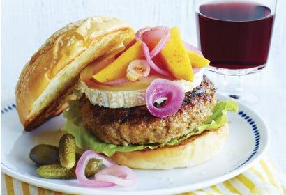 Burgers de veau à la mangue et au fromage de chèvre Image